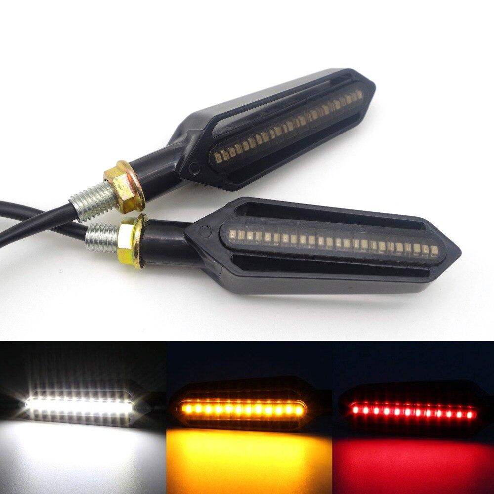 For Honda CB 599 919 400 CB600 HORNET MSX CB400 CB500F HONDA CB500X Motorcycle Turn Signal Lights Flowing Flicker Led Blinkers