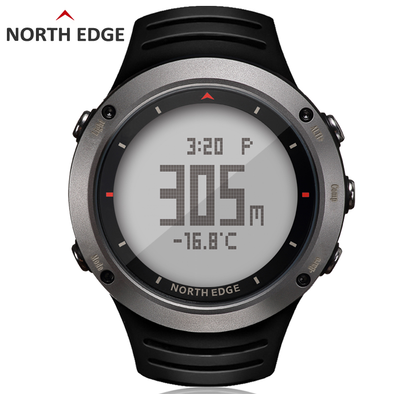 Men army sport Digital watch Hours Running Swimming sports watches Altimeter Barometer Compass Thermometer Weather NORTH EDGEMen army sport Digital watch Hours Running Swimming sports watches Altimeter Barometer Compass Thermometer Weather NORTH EDGE