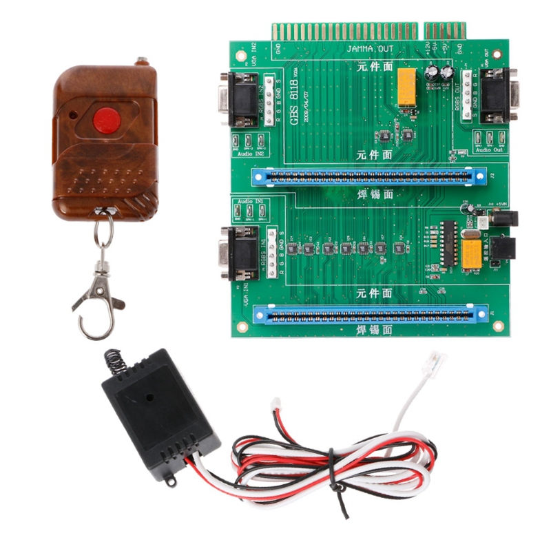2-In-1 Arcade Gaming Control Multi for JAMMA Switcher PCB Adapter Board GBS-8118 #H029# Drop shipping