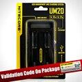 Оригинал Nitecore UM10 Nitecore UM20 Смарт Зарядное Устройство ЖК-Дисплей Зарядное Устройство Универсальное Зарядное Устройство с Usb Кабели 18650