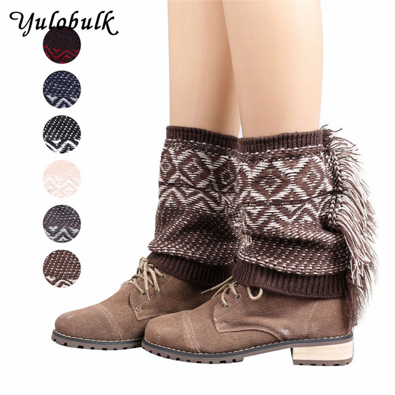 Leg Warmers Winter Warm Knit Leg Warmers For Women Lace Boot Cuffs With Buttons Lady Twisted Boot Socks Gaiters Adult Leg Warmer Boot Warmer High Standard In Quality And Hygiene Underwear & Sleepwears