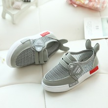 Shoes Kid Fashion Cute Girls Flats Breathable Air Mesh Baby Sport With Ear Children Sneakers For Toddler Boys 2019