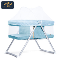 Portable Baby Bed Infant Travel Folding Baby Crib Breathable Children's Bed Baby Cots For Newborns