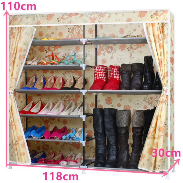 Cabinet:  FREE shipping Oxford Homestyle Shoe Cabinet Shoes Racks Storage Large Capacity Home Furniture Diy Simple - Martin's & Co