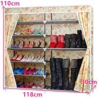 FREE shipping Oxford Homestyle Shoe Cabinet Shoes Racks Storage Large Capacity Home Furniture Diy Simple