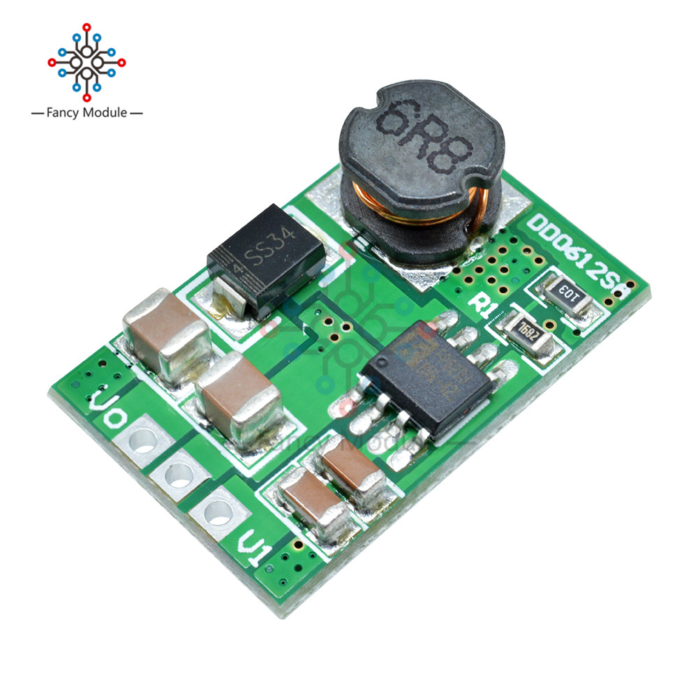 DC-DC 3V 3.3V 3.7V 4.2V 5V to 5V 6V 9V <font><b>12V</b></font> <font><b>3.5A</b></font> Step-Up Boost Converter module Voltage Regulate <font><b>Power</b></font> <font><b>Supply</b></font> Module Board image