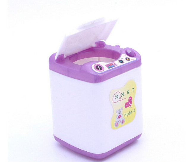 Muñeca lavadora Muebles dispensador de agua para Barbie Casa de ...