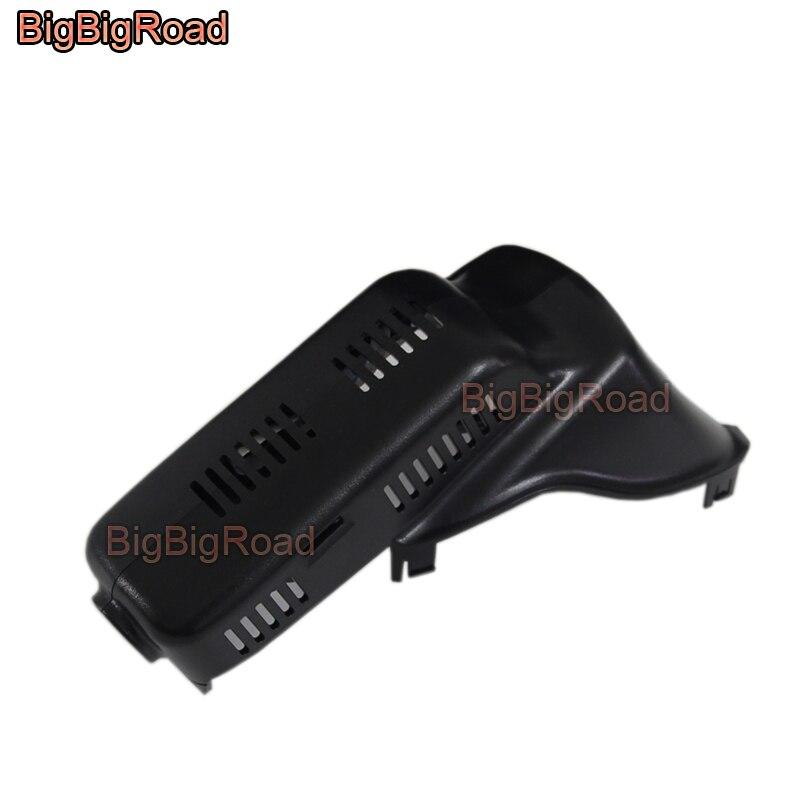 BigBigRoad Pour volvo XC60 Bas Configuré 2009 2010 2011 2012 2013 2014 2015 2016 2017 Voiture Enregistreur Vidéo De Voiture Wifi DVR Dash Cam