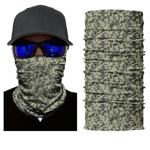 Skull FACE MASK Sun Shield Neck Gaiter Headband Bandana Du Rag Skull Cap SPF40