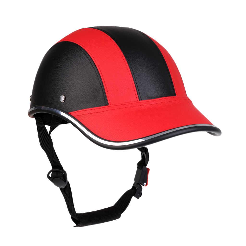 Unisex Xe Đạp Mũ Bảo Hiểm Nón Bóng Chày Chống Tia UV An Toàn Mũ Bảo Hiểm Xe Đạp Có Thể Điều Chỉnh Cằm Dây Xe Đạp Đường Bộ Mũ Bảo Hiểm Cho MTB Trượt Băng