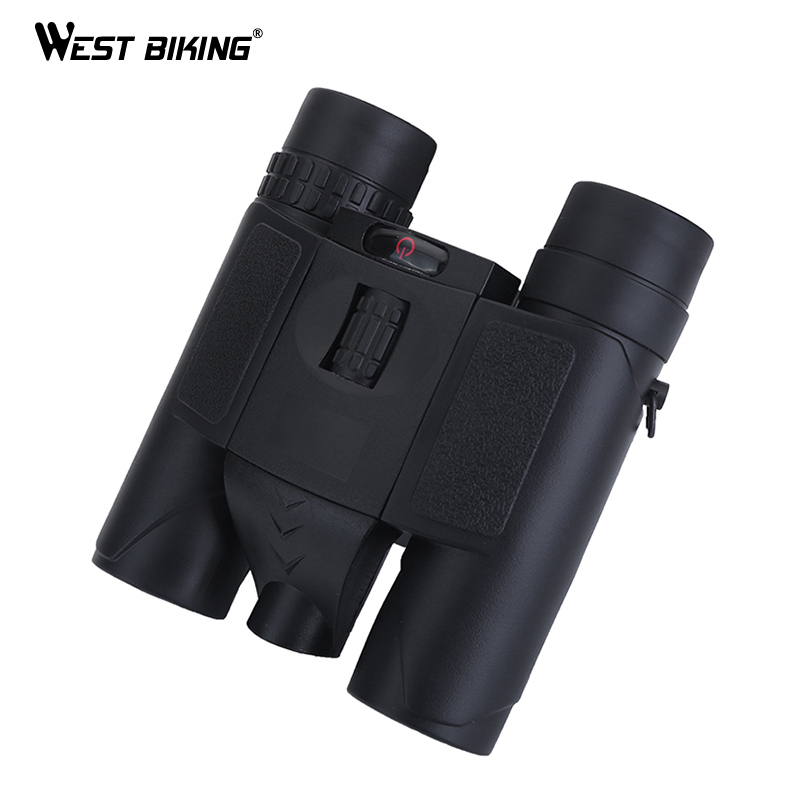 WEST BIKING Professional 8x25 HD Binoculars Night Vision Telescope with BAK4 Prism Portable Match Hiking Hunting Tools Telescope