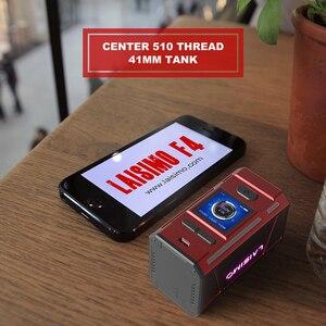 Image 3 - Laisimo Mod de cigarrillo electrónico F4 360W, caja TC Original, funciona con 2 o 4 baterías, NI200 Ti SS, rosca 510