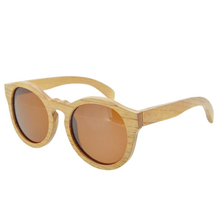 BEDATE G010A Polarised Wooden Sunglasses, Wood Frame
