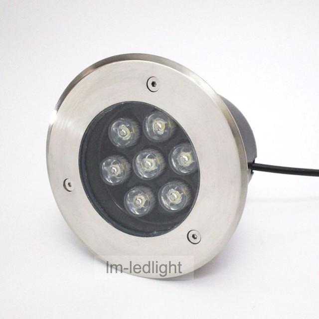 12v Deck Lights 7w Ip67 Underground Lighting Bridgelux 45mil