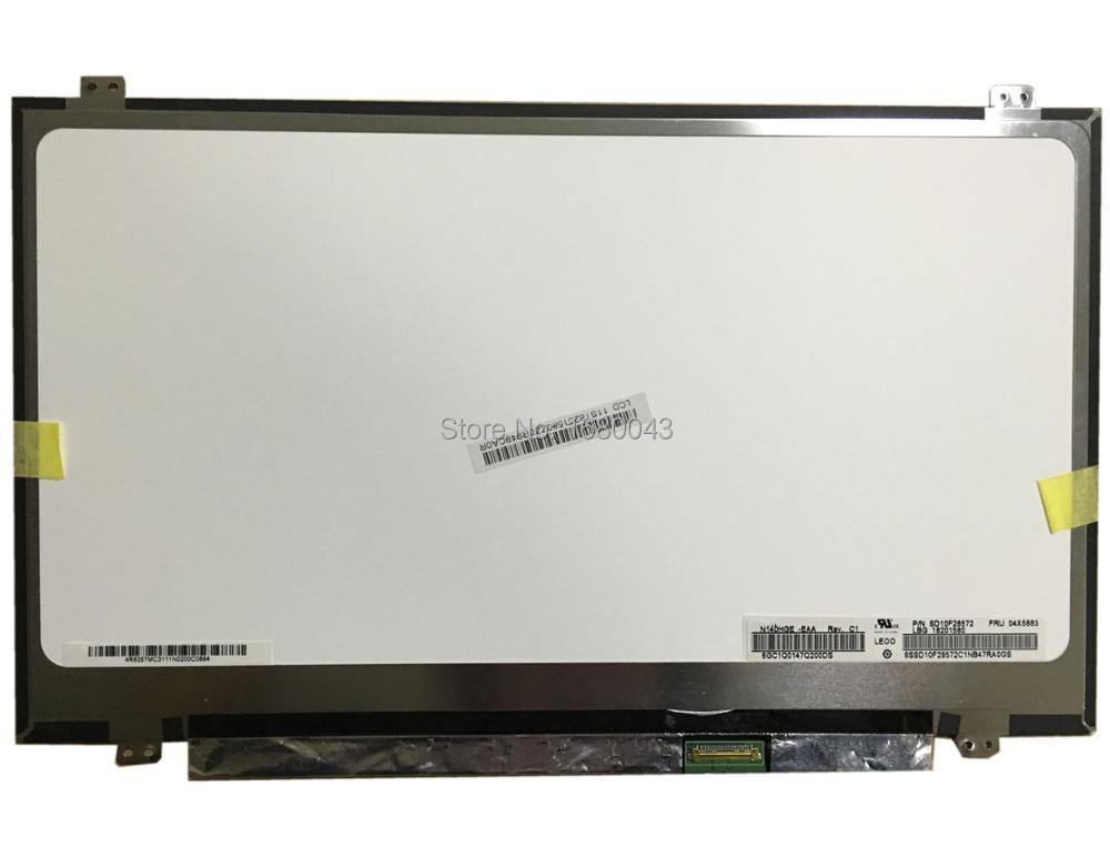 цены N140HGE-EAA Rev C1 fit B140HTN01 N140HGE-EB1 N140HGE-EBA B140HTN01.2 B140HTN01.1 30 pin EDP LCD Laptop LED Display Screen