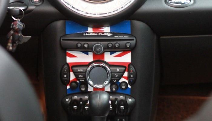 Aliauto автомобиль-Стайлинг внутренний Интимные аксессуары центральной консоли Стикеры наклейки для Mini Cooper Countryman R50 R52 R53 R58 R56