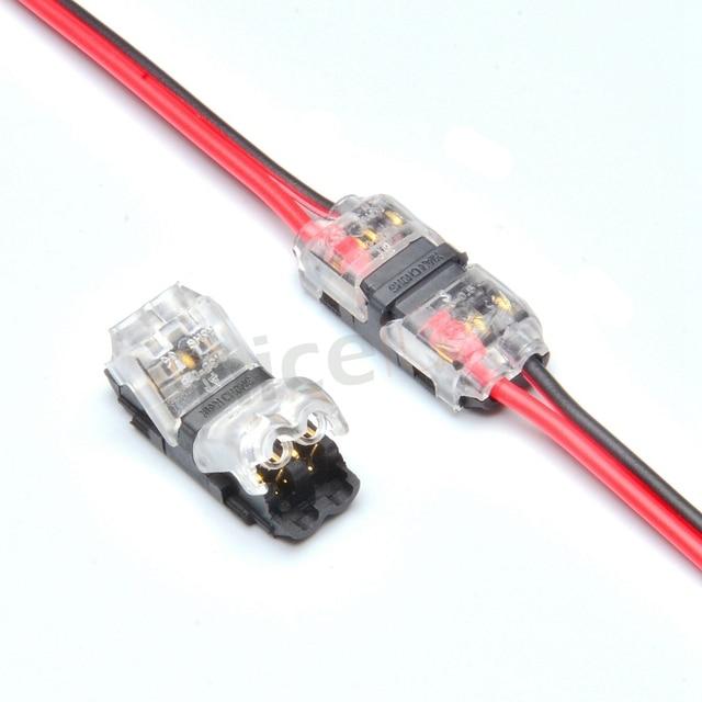 50pcs 2 pin i shape quick splice wire wiring terminals crimp rh aliexpress com electrical wiring connectors quick disconnect Quick Splice Wire Connectors