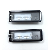 Оригинальные 2 шт. OEM свет номерного светодиодный номерной знак лампа Fit Passat B7 Гольф MK7 Scirocco CC Polo 6R 35D 943 021