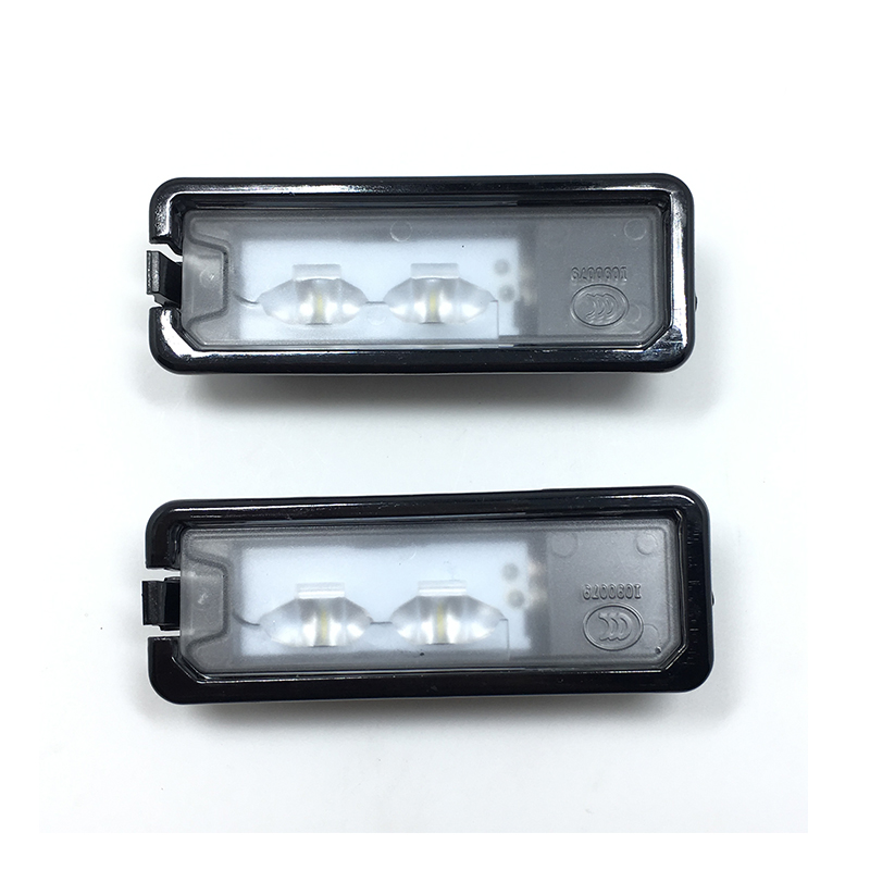Original 2Pcs VW OEM Light License Plate LED License Plate Lamp Fit VW Passat B7 Golf MK7 Scirocco CC Polo 6R 35D 943 021 A for vw passat b7 cc golf mk7 license plate light with plug connector 35d 943 021 a
