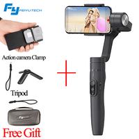 FeiyuTech Feiyu Vimble 2 Handle Gimbal Stabilizer 3 Axis Extended Rod Steadicam For Action Camera Smartphone