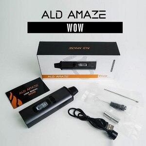 Image 1 - Original ALD AMAZE Kit 1800mah built in battery herbal dry herb vaporizer vape pen portable all in one electronic cigarette kit