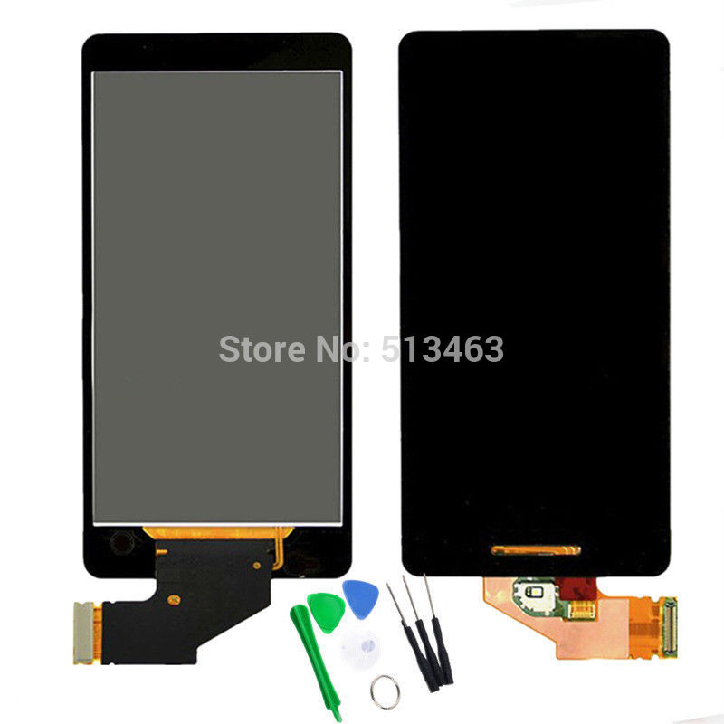 Black For Sony Xperia V LT25 LT25i LCD display font b touch b font font b