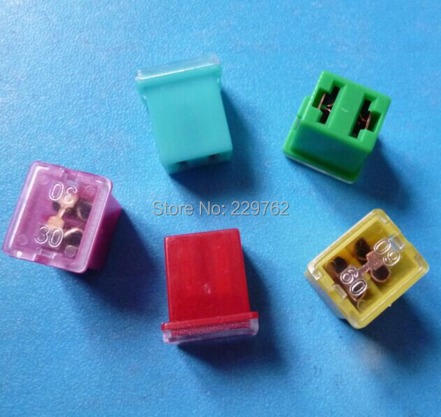 Free shipping 100PCS high quality 20A 30A 40A 50A 60A car fuse link auto fuse box aliexpress com buy free shipping 100pcs high quality 20a 30a 40a 20a fuse box at creativeand.co