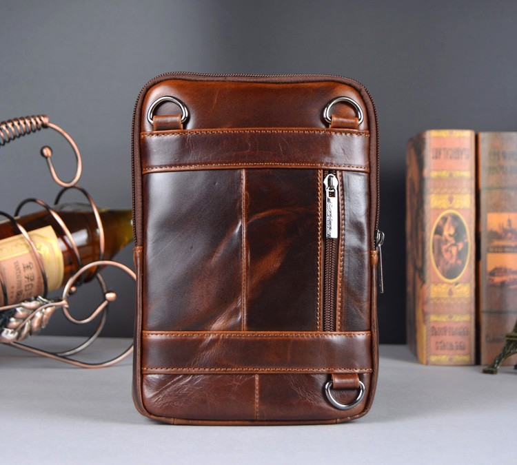 China genuine leather messenger bag Suppliers