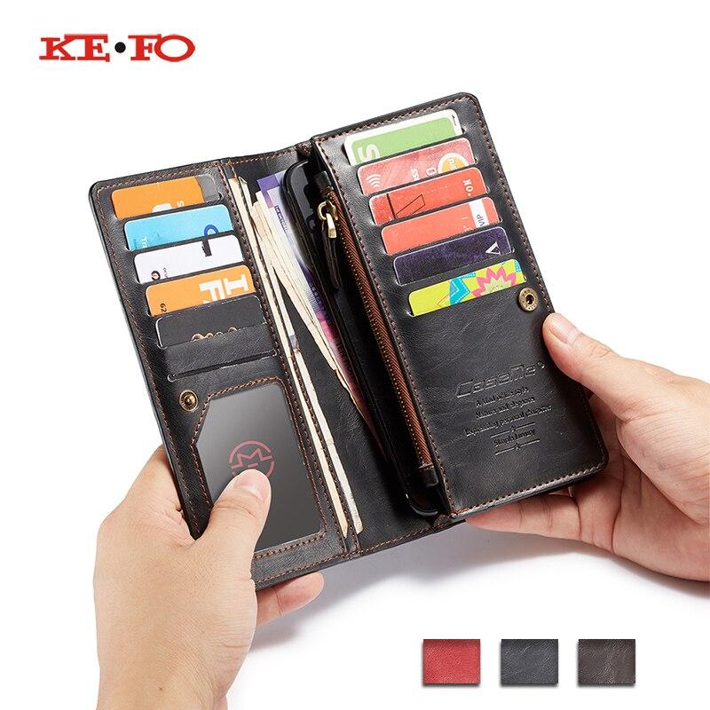 Zipper Flip Leather Wallet Case Cover for Xiaomi Mi A2 Lite A1 6X 5X Redmi 6 Pro Book Style Universal Wallet Phone bag wallet