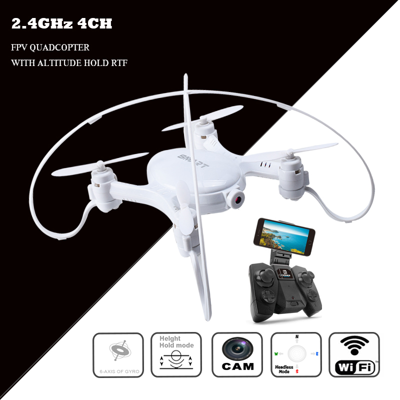Rc mini drone hubschrauber mit kamera fpv quadcopter eders quad copter droni fernbedienung spielzeug drohne com wifi micro quadrocopter