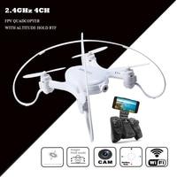 rc mini drone helicopter with camera fpv quadcopter dron quad copter droni remote control toy drohne com wifi micro quadrocopter