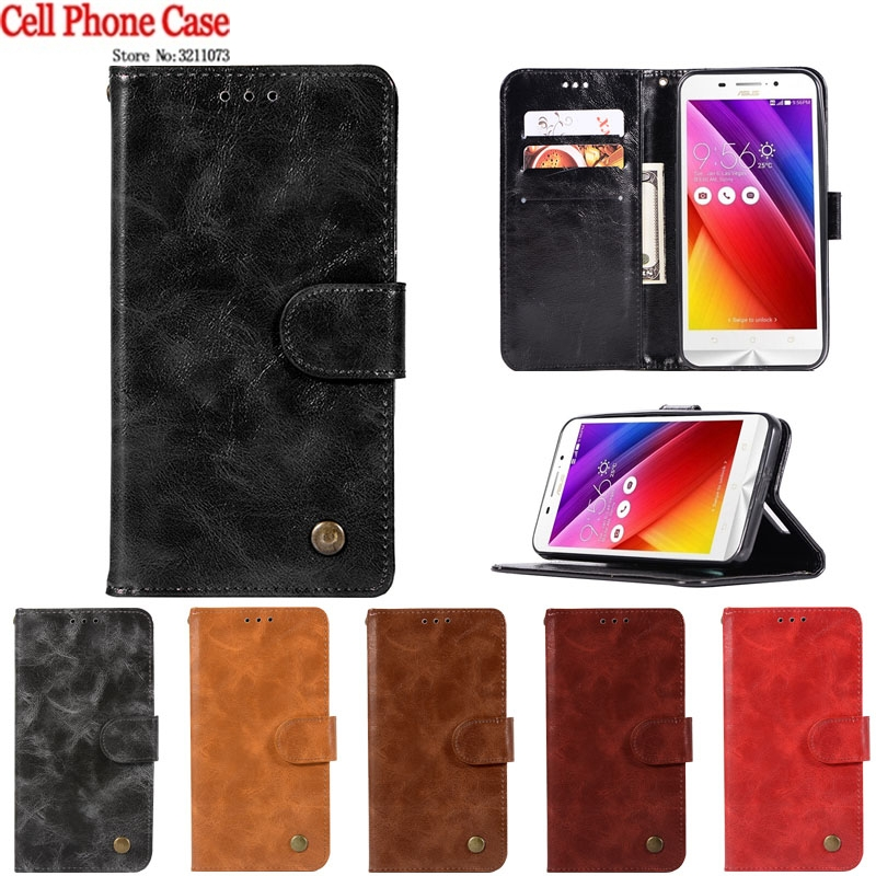 Flip Phone Case For <font><b>Asus</b></font> Zenfone Max ZC550KL Case Leather Stand For <font><b>Asus</b></font> Zenfone Max ZC550KL ZC 550KL Z010D <font><b>Z010DD</b></font> Case Cover image