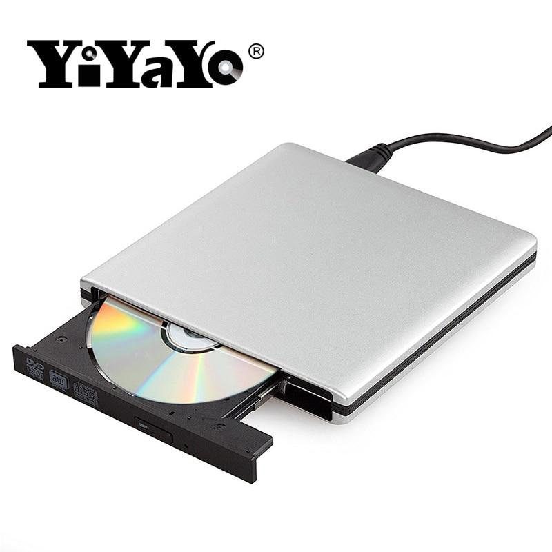 YiYaYo Externe dvd-station USB 3.0 CD / RW-brander ROM-speler - Computer componenten - Foto 6