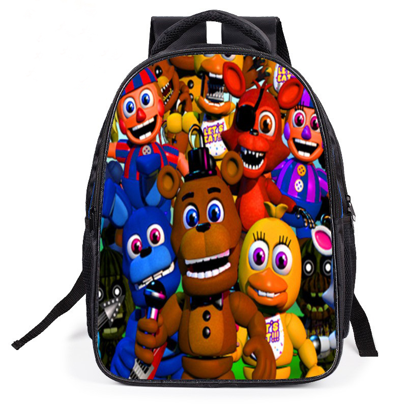 2018 New Cute Cartoon Kids Five Nights At Freddys Backpacks Children Schoolbags Teenagers Boys Girls Students School Book Bags