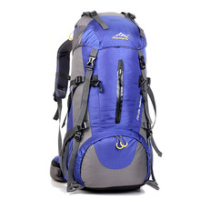 Large Backpack Unisex Travel Backpacks Waterproof Rucksack Mountaineering Bag Nylon Backpack