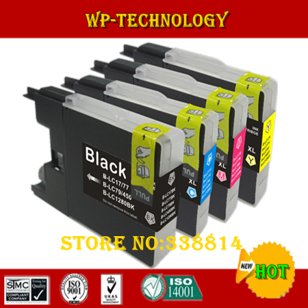 Compatible Ink cartridge suit for LC17 LC77 LC79 LC450 <font><b>LC1280</b></font> , Suit for J955DN/J955DWN/J705D/J705DW J835DW/J280W/J425W etc image