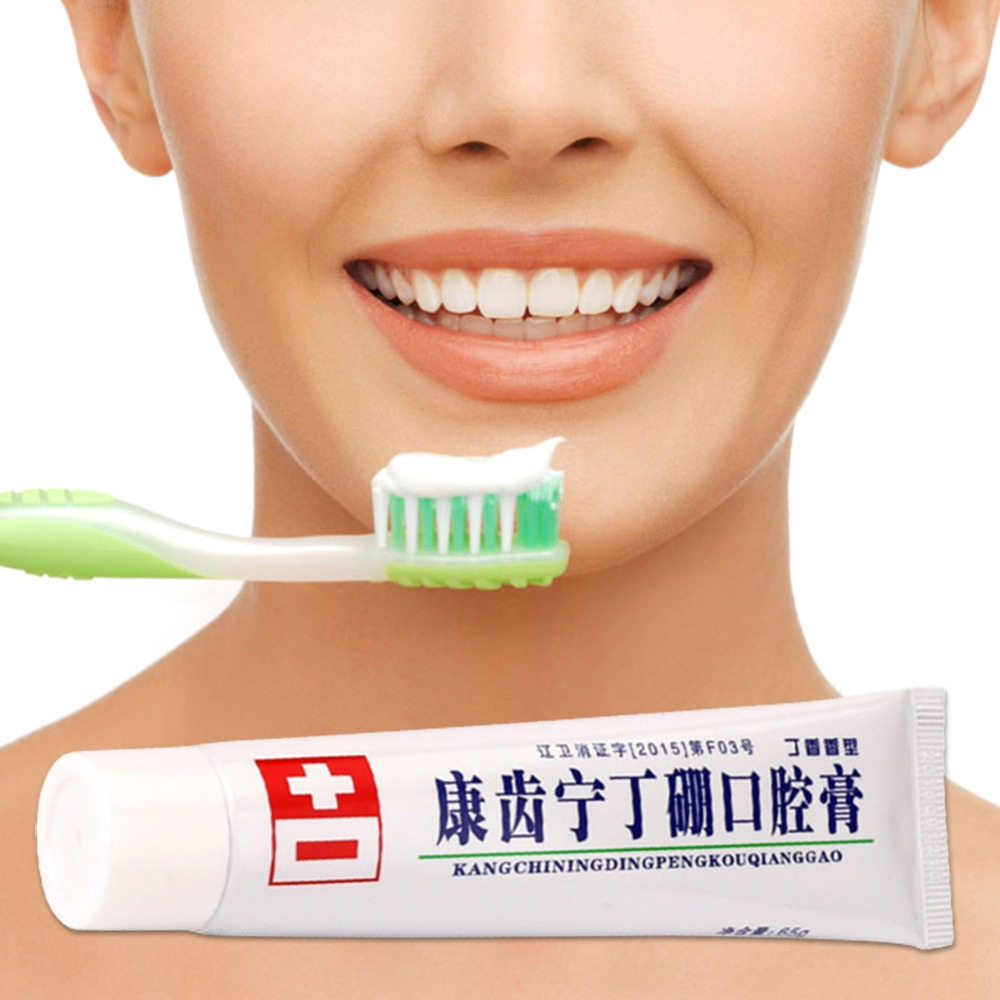 36g Toothpaste Bamboo Teeth Mouth Cream Anti-inflammatory Analgesic Deodorant Fresh Mouth Dental Care