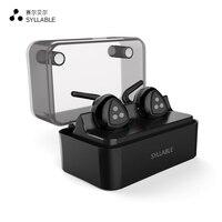 100 Orignal SYLLABLE D900MINI Bluetooth 4 1 Earphone Noise Cancelling Bluetooth Headset Wireless Sports Bass Earphone