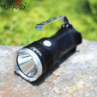 YUPARD 3* XM L2 LED T6 Spotlight Searchlight Flashlight torch lamp light 18650 battery 5500 Lm+4* 2200mAh 18650 Battery+Charger