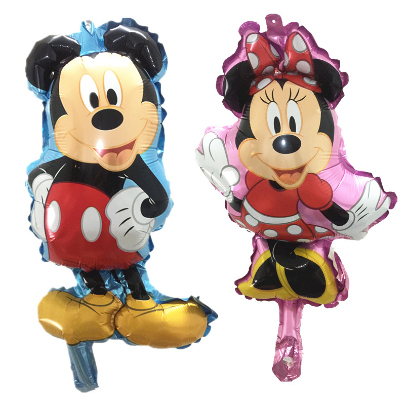 QGQYGAVJ Mini Mickey Minnie Balons Baby Birthday Party Decoration Air inflatable ...