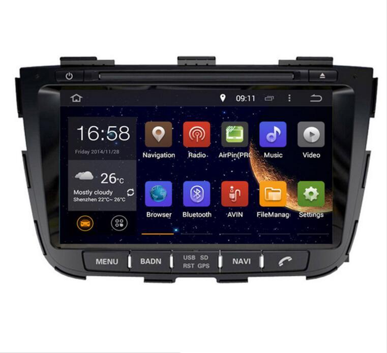 2018 4G LTE 8 pouces Android 8.0! 32G 1024*600 octa core voiture multimédia lecteur DVD Radio GPS Pour KIA SORENTO 2013 2014 2015 WIFI