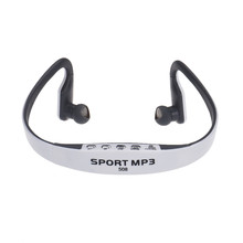 Innovative Sports Headphones Portable CD Quality Stereo Earphones FM Radio Supports TF Card as MP3 Player