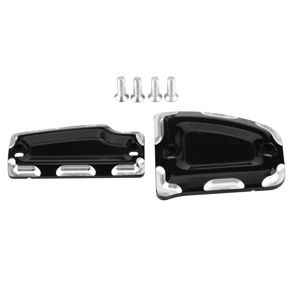 Motorcycle Front Rear Master Cylinder Covers For Indian Scout 2015-2018