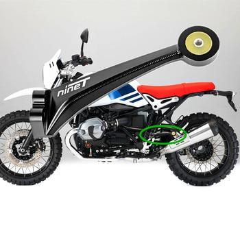 Motorcycle Exhaust Muffler Pipe Bracket Mount Holder For BMW R Nine T R 9T 2014 2015 2016