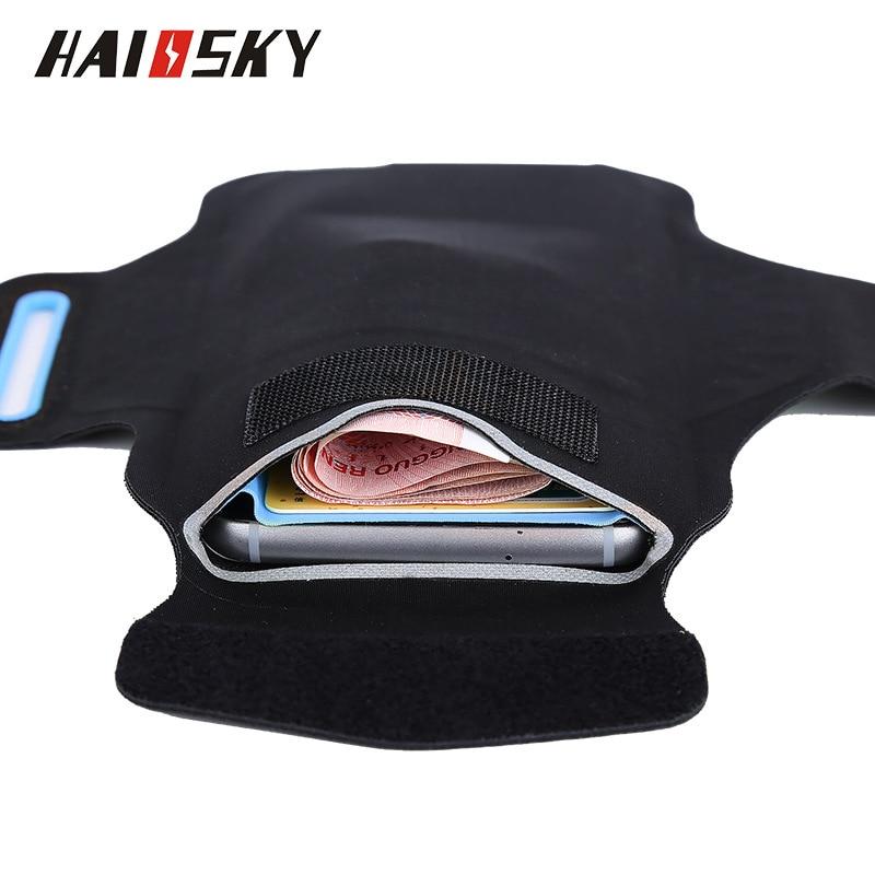 Haissky 5.5 '' Universal vattentät löpande sporttelefonfodral för - Reservdelar och tillbehör för mobiltelefoner - Foto 5