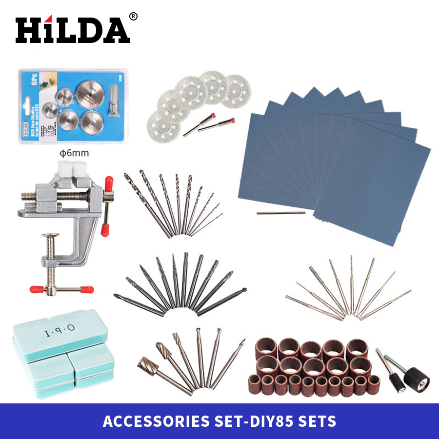 HILDA Dremel Accessories For Dremel Rotary Tool Accessory Set Fits For Dremel Drill Carving Grinding Polishing Accessories