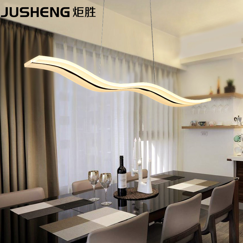 New Brief Style LED Pendant Light lamps 97CM 29' inch Long ceiling Hanging lamp in Dinning Living Room Restaurant Kitchen lights chinese style bamboo pendant light dinning room suspension lamps bar restaurant study kitchen office pendant lamp