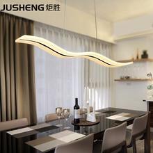 Nuevo estilo breve led lámparas de techo de luz 97 cm 29′ pulgadas largo Colgante de techo lámpara de Comedor Sala de estar Cocina del Restaurante luces
