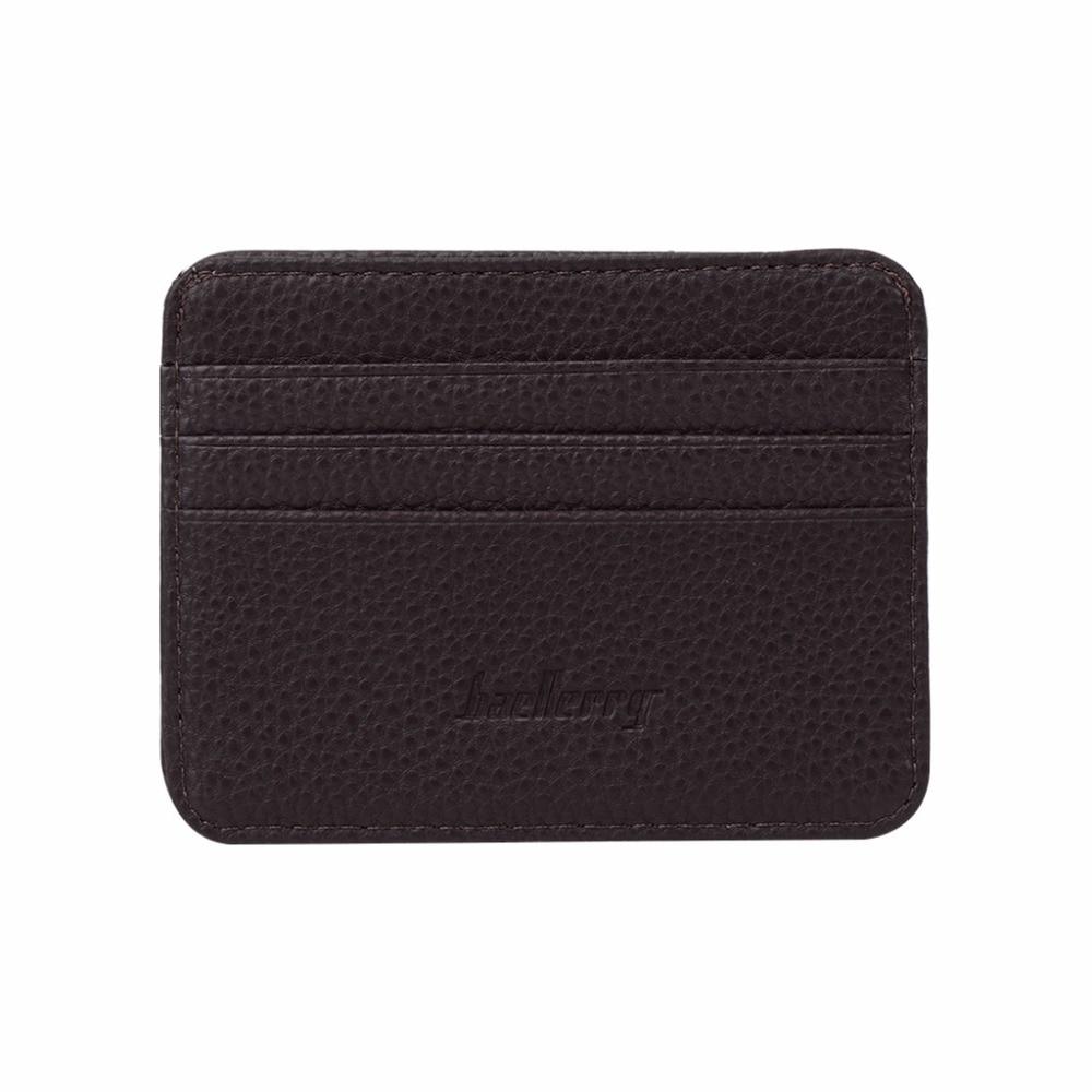 91f06250da63 THINKTHENDO 1 PC Men's 3 Credit Cards Business Pocket Slim Thin ID Credit  Card Money Holder Wallet 6 Color
