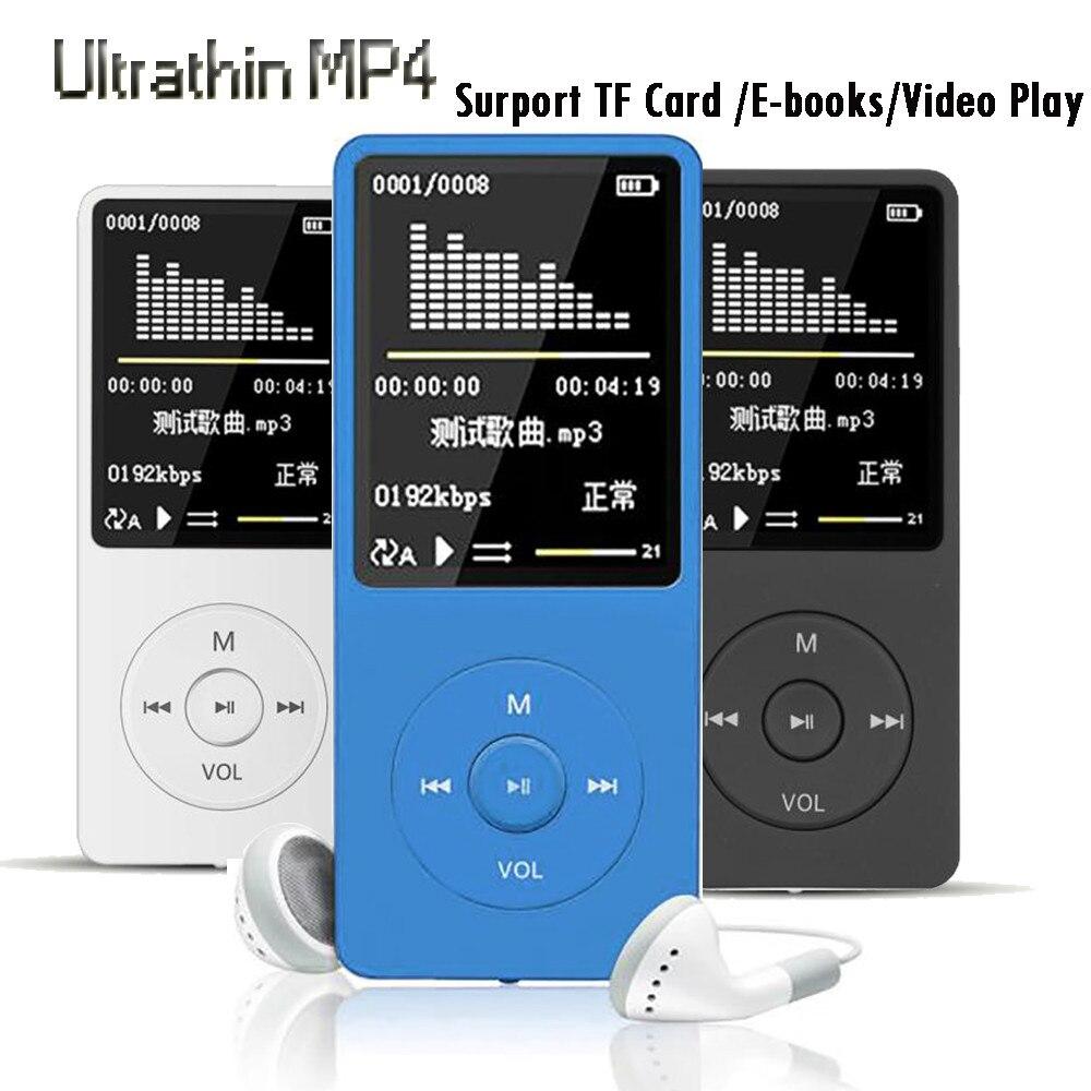 חדש 70 שעות השמעת MP3 MP4 Lossless קול מוסיקה נגן TXT ספר אלקטרוני FM מקליט TF כרטיס תמיכה עד 128 gb Droship 10jul 10